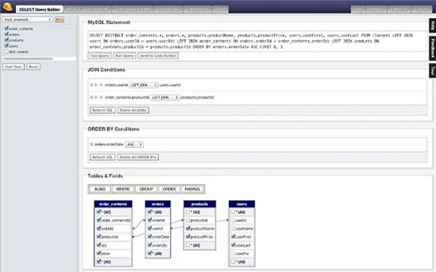 My-Query-Builder Online Forms Builder Open Source on