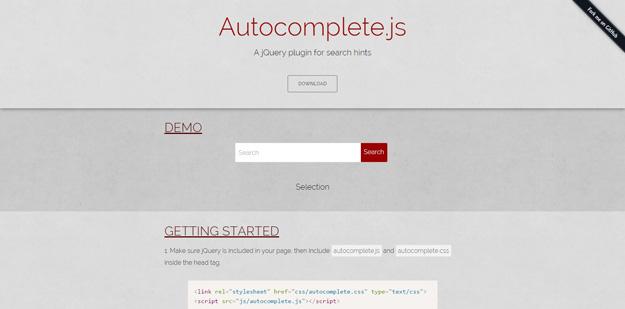 Top jQuery Autocomplete Plugins | Code Geekz