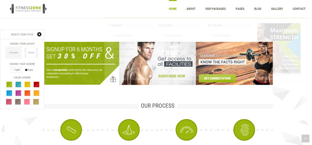 20 fitness gym website templates for 2016 code geekz