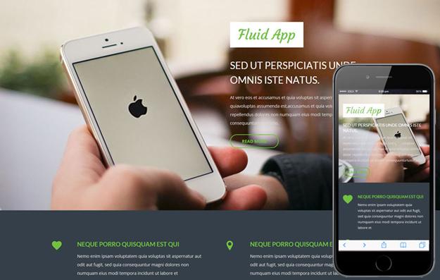 20 best html5 mobile templates code geekz. Black Bedroom Furniture Sets. Home Design Ideas