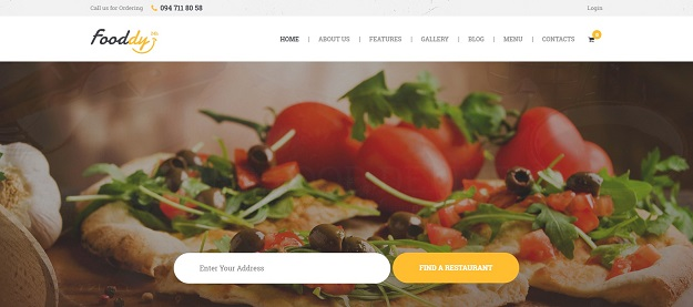 Best food delivery wordpress themes code geekz fooddy 247 is a stylish and powerfull wordpress theme with a design created for online food ordering and food delivery website or application forumfinder Images