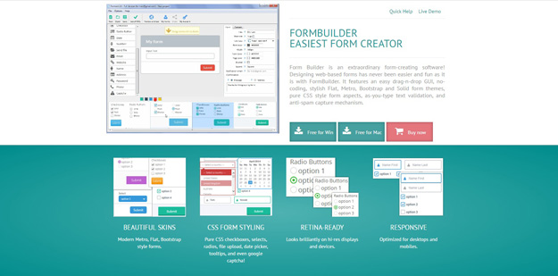 12 Free HTML Form Builders and Tools | Code Geekz