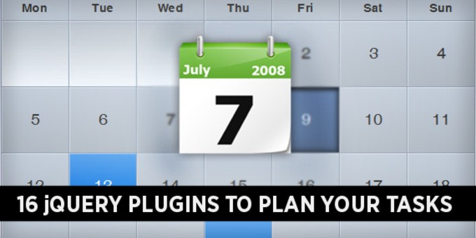 16 jQuery Date Picker Plugins to Plan Your Tasks | Code Geekz