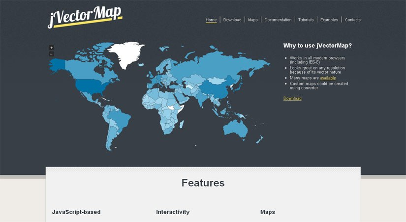 16 Best Free jQuery Map Plugins | Code Geekz