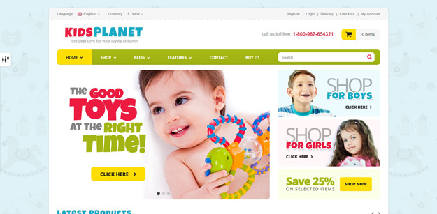 Kids Planet Is A Premade Responsive Retina Ready HTML5 Template For Your Future Store Blog Or Simply Website It Includes Everything You Need The