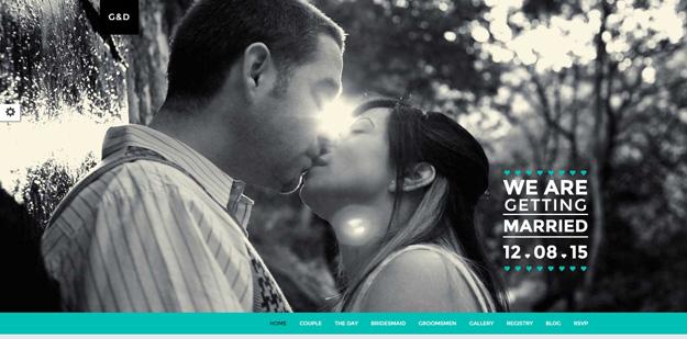 20 HTML Wedding Website Templates | Code Geekz