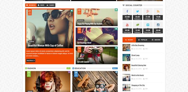 Premium Responsive Blogger Templates | Code Geekz