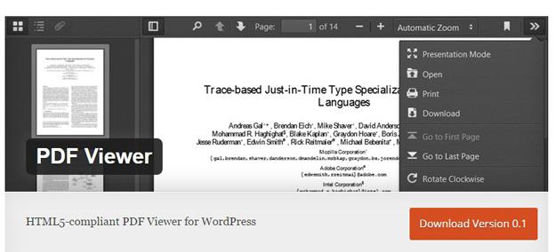 PDF VIEWER JAVASCRIPT PLUGIN PDF DOWNLOAD