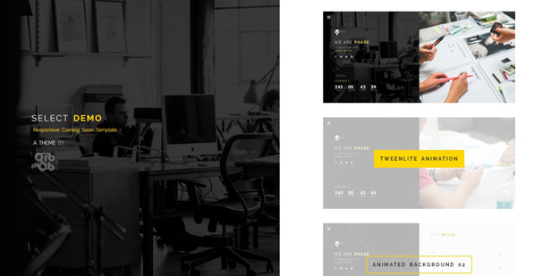 Best HTML5 Coming Soon Templates | Code Geekz