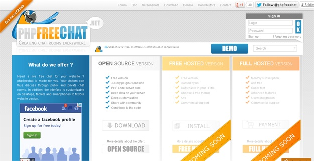 10 Free Chat Applications for Your Websites | Code Geekz