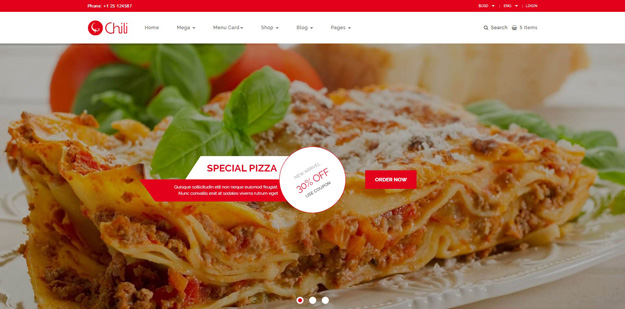 21 html5 restaurant cafe website templates code geekz redchili is a fully responsive retina ready html5 restaurant theme it is based on bootstrap 335 the main purpose of this template is to make a complete maxwellsz