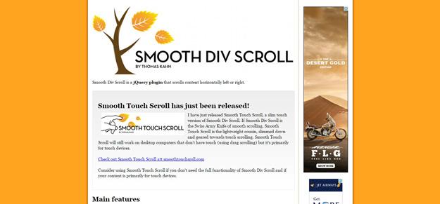 15 jQuery Horizontal Scroll Plugins | Code Geekz