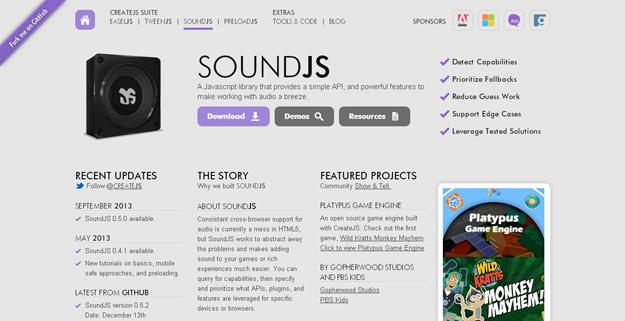 10 JavaScript Audio Libraries for Developers   Code Geekz