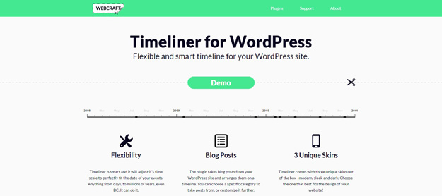 15 Best Wordpress Timeline Plugins | Code Geekz