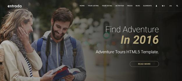 Best HTML Travel Website Templates Code Geekz - Vacation tour and travel