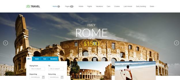 15 Best HTML Travel Website Templates | Code Geekz