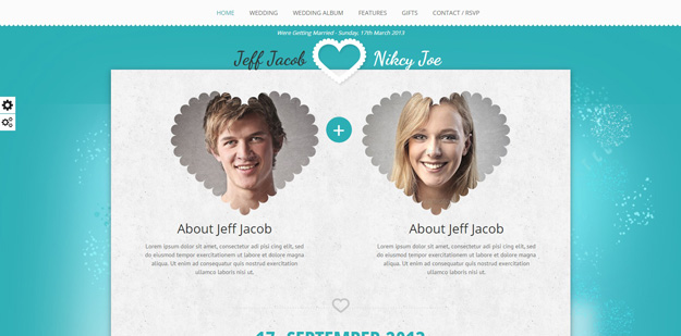 20 HTML Wedding Website Templates | Code Geekz